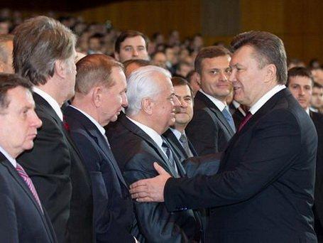 Виктор Янукович отпраздновал День Соборности и Свободы