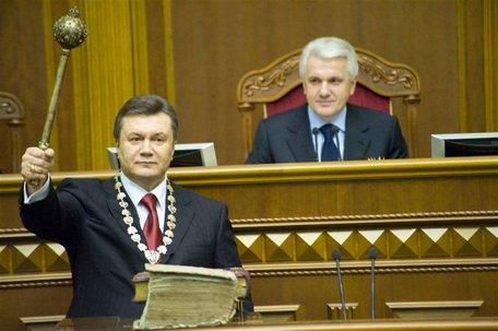 Президент Украины Виктор Федорович Янукович