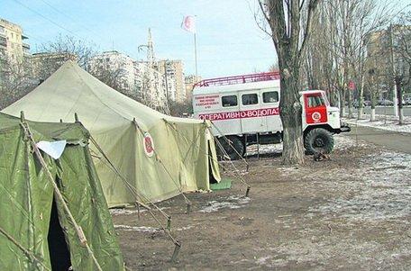 Пункты обогрева в Киеве