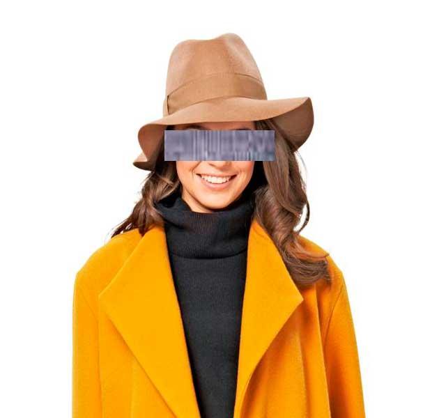 наши шансы девушка в желтом пальто